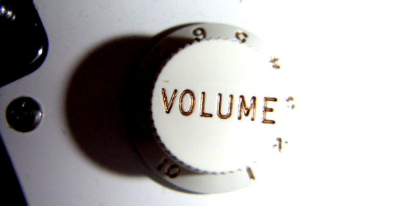 Pump Up The Volume… On Your Life